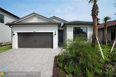 Tamarac Single Family Home For Sale: 7850 NW 79th Ter