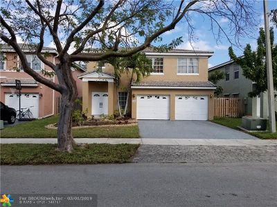 Cooper City Single Family Home Backup Contract-Call LA: 5948 SW 112th Dr