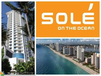 Sunny Isles Beach Condo/Townhouse For Sale: 17315 Collins Ave #609