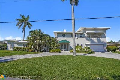 Pompano Beach Single Family Home For Sale: 2225 SE 8th Ct