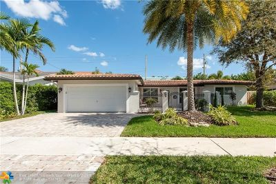 Fort Lauderdale Single Family Home For Sale: 5980 NE 22nd Way
