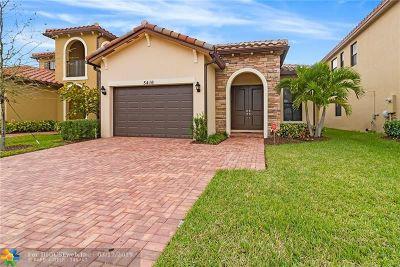 Tamarac Single Family Home For Sale: 5416 NW 48th Ln