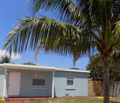 Pompano Beach FL Single Family Home For Sale: $279,000