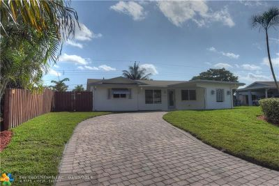Oakland Park Single Family Home Backup Contract-Call LA: 4480 NW 16th Ave