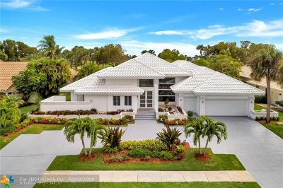 Boca Raton Single Family Home For Sale: 4953 Bocaire Blvd