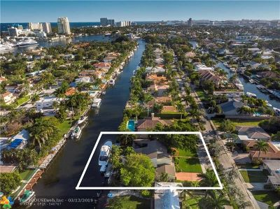 Las Olas Isles Single Family Home For Sale: 528 Riviera Dr.