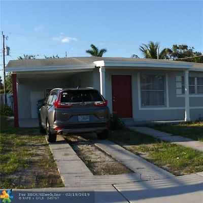Boynton Beach Single Family Home For Sale: 1581 NW 2nd Lane