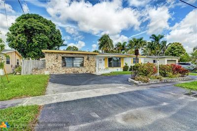 Lauderdale Lakes Single Family Home Backup Contract-Call LA: 3401 NW 40th Street