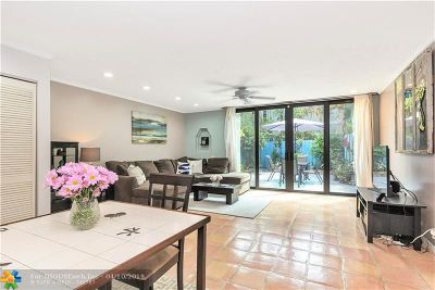 Fort Lauderdale Condo/Townhouse For Sale: 1315 Miami Rd #G