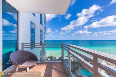Hollywood Condo/Townhouse For Sale: 3535 S Ocean Dr #1404