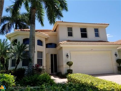 West Palm Beach Single Family Home For Sale: 8405 Legend Club Dr