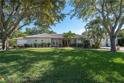 Coral Springs Single Family Home For Sale: 3181 NW 107th Ave