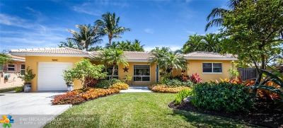 Fort Lauderdale Single Family Home For Sale: 5840 NE 21st Ln