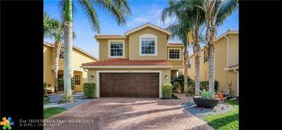 Boynton Beach Single Family Home For Sale: 7942 Parsons Pine Dr