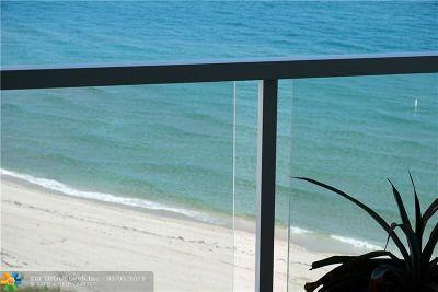 Hillsboro Beach Condo/Townhouse For Sale: 1057 Hillsboro Mile #911