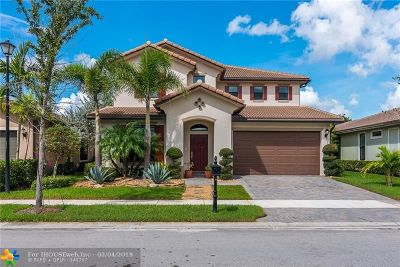 Parkland FL Single Family Home For Sale: $629,900
