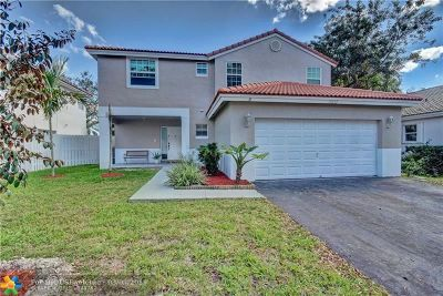 Sunrise Single Family Home For Sale: 13232 NW 12th Ct