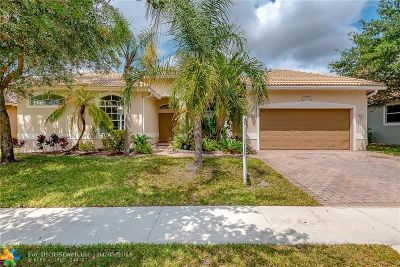Pembroke Pines Single Family Home For Sale: 13751 NW 23rd St