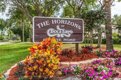 Boca Raton Condo/Townhouse For Sale: 21820 Cypress Cir #25-C