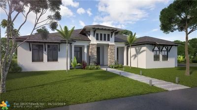 Plantation Single Family Home For Sale: 11780 NW 17 Place