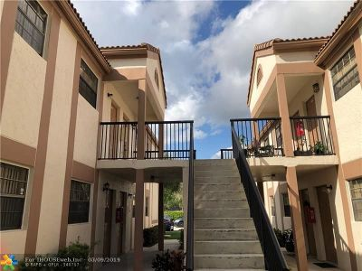 Coral Springs Condo/Townhouse For Sale: 12278 Royal Palm Blvd #A-8