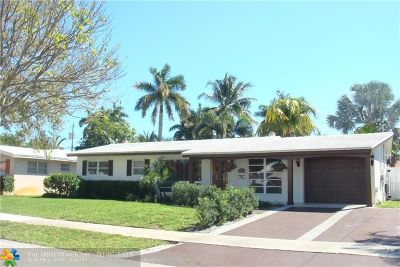 Fort Lauderdale Single Family Home For Sale: 1910 NE 59th Ct