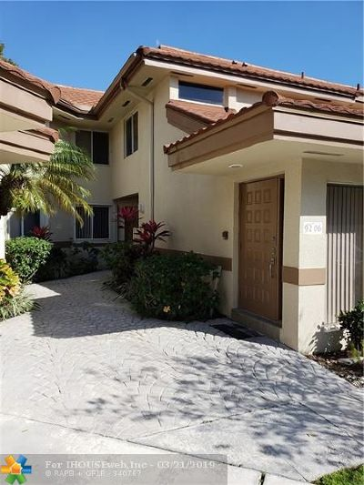 Plantation Condo/Townhouse For Sale: 9206 NW 9th Pl #9206