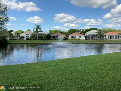 Boca Raton Single Family Home Backup Contract-Call LA: 6381 Brava Way