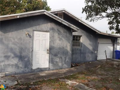 Fort Lauderdale Single Family Home For Sale: 2911 NW 7th Ct
