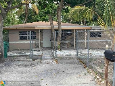 Fort Lauderdale Single Family Home For Sale: 2921 NW 7th Ct