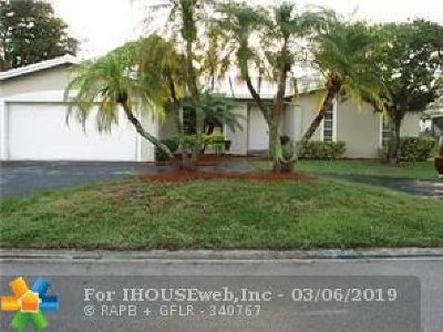 Coral Springs Single Family Home For Sale: 2026 NW 86 Way