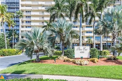Fort Lauderdale Condo/Townhouse For Sale: 4300 N Ocean Blvd #PH-H