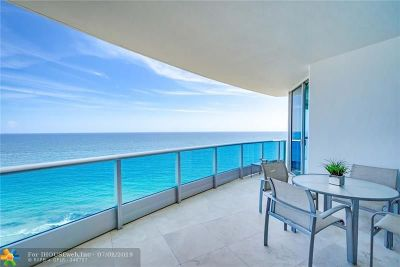 Lauderdale By The Sea Condo/Townhouse For Sale: 1600 S Ocean Blvd #1402