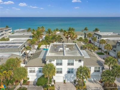 Hillsboro Beach Condo/Townhouse For Sale: 1194 Hillsboro Mile #12,13