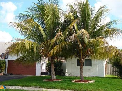 Sunrise Single Family Home For Sale: 9341 NW 39th St