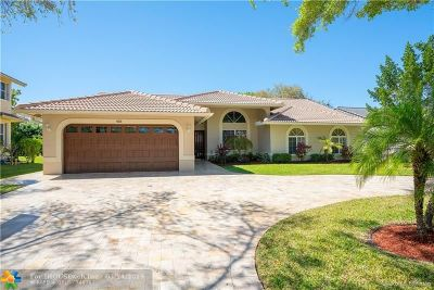 Coral Springs Single Family Home For Sale: 4628 NW 99th Ter