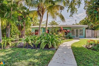 Fort Lauderdale Single Family Home For Sale: 1400 NE 16th Ter