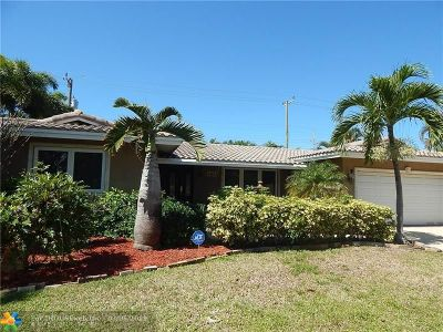 Fort Lauderdale Single Family Home For Sale: 5801 NE 18th Ter