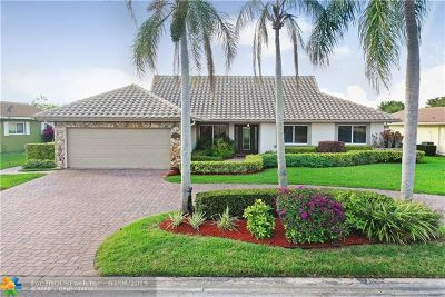 Coral Springs Single Family Home For Sale: 1844 NW 82nd Ave