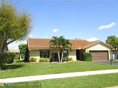 Margate Single Family Home For Sale: 7907 NW 19th St