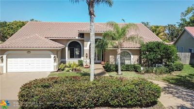 Plantation Single Family Home For Sale: 10951 NW 7th Ct