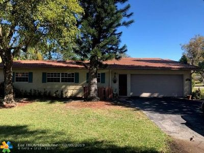 Coral Springs Rental For Rent: 8307 NW 37th St