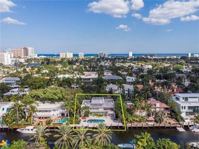 Single Family Home For Sale: 615 Coral Way