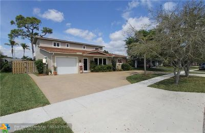 Coconut Creek Single Family Home For Sale: 4401 NW 9th Ct