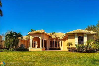 Plantation Single Family Home For Sale: 11241 NW 15th St