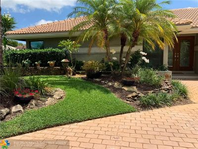 Coral Springs Single Family Home For Sale: 10444 NW 4th St