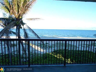 Pompano Beach Condo/Townhouse Backup Contract-Call LA: 520 N Ocean Blvd #17