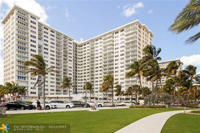 Pompano Beach Condo/Townhouse Backup Contract-Call LA: 111 N Pompano Beach Blvd #703