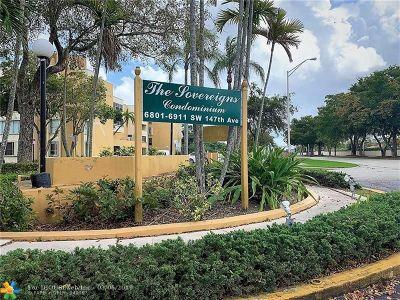 Miami Condo/Townhouse Backup Contract-Call LA: 6801 SW 147 Av #3G