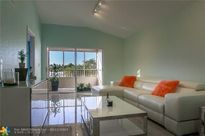 Oakland Park Condo/Townhouse For Sale: 2831 N Oakland Forest Dr #307